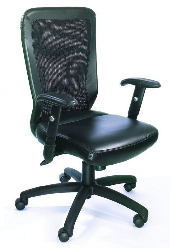 """The Web Chair"" Black Mesh Office Chair"