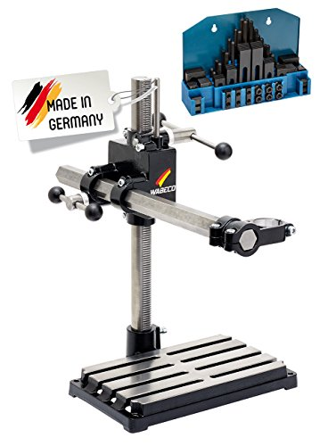 WABECO-Bohrstnder-Frsstnder-Sule-500-Ausleger-500-mm-vertikalhorizontal-mit-Spannpratzen-Satz