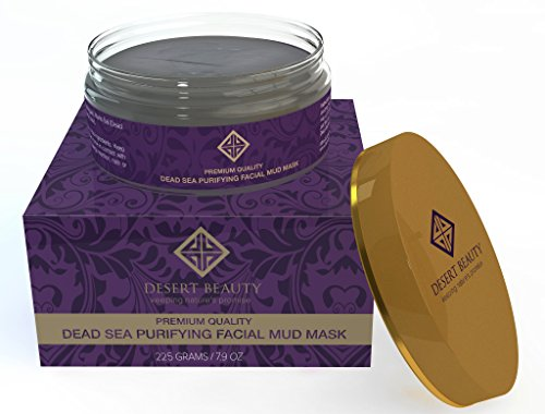Premium Dead Sea Mud Mask For At-Home Facials;