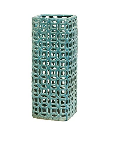 Links Tall Graphic Decorative Vase