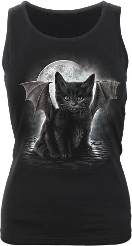 Bat Cat Razor Back Top
