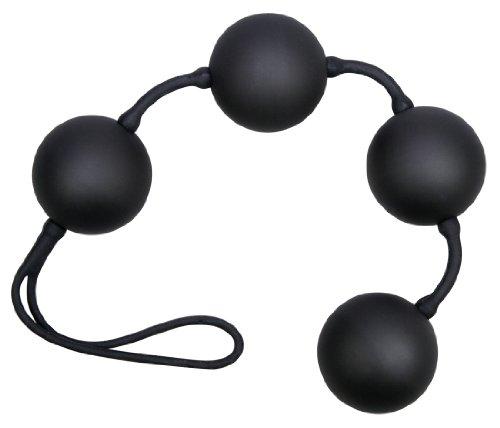 Velvet Black Balls 4 Er Kugeln, 1er Pack (1 X 1 Stück)