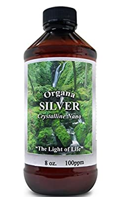 THE BEST Nano Colloidal Silver - Amazing Colloidal Silver - Immune System Booster - 8 Ounce 100 PPM Colloidal Silver - Silver Mineral Supplement - Colloidal Silver Liquid - Colloidal Silver for Pets- Colloidal Silver for Acne - Colloidal Minerals