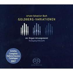 J.S. バッハ:ゴルトベルク変奏曲 BWV 988 (オルガン編)[Hybrid SACD]