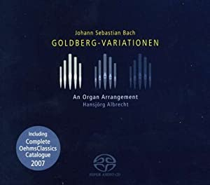 Goldberg-Variationen - Arrangement für Organ von Hansjörg Albracht