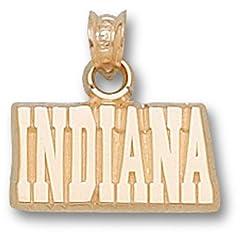 Indiana University Indiana 3 8 - 14K Gold by Logo Art