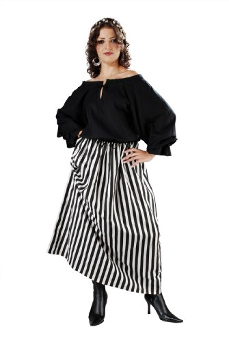 Armor Venue Women's Striped Wench Skirt - Renaissance Costume