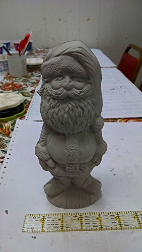 Santa Claus Big head unpainted ceramic bisque DIY Christmas decorations (Ceramic Santa Head compare prices)