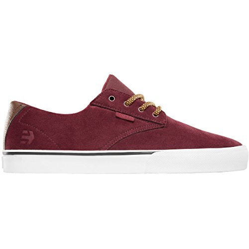 Etnies Men's Jameson Vulc Lace Up Shoe, Burgundy, 11 D US