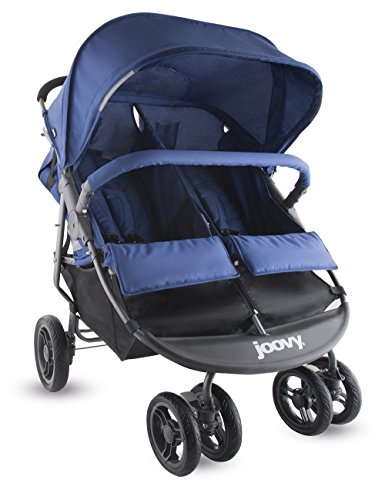 Joovy Scooter X2 Double Stroller, Blueberry (Side By Stroller compare prices)