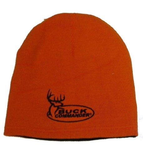 Find Discount Buck Commander Beanie, Black/Orange