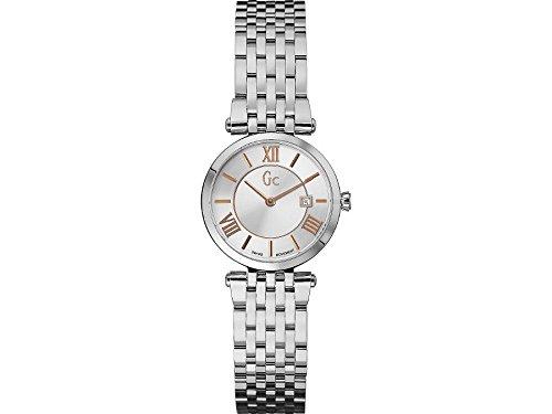 Guess X57001L1S - Reloj para mujeres, correa de acero inoxidable color plateado