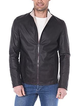 GIORGIO DI MARE Cazadora Piel Men'S Leather Jacket (Marrón)