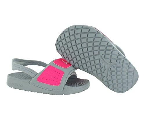 14e601e3aa126e Nike Jordan Toddlers Jordan Hydro 3 Gt Mtlc Platinum White Hyper Pink Sandal  9 Infants US
