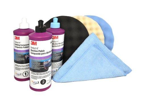 3M Perfect it BUFFING & POLISHING KIT Pad Compound Foam 39062 39061 39060 5723 5725 5751 (3m Polishing Compound compare prices)