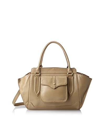 Zenith Women's Winged Satchel, Taupe