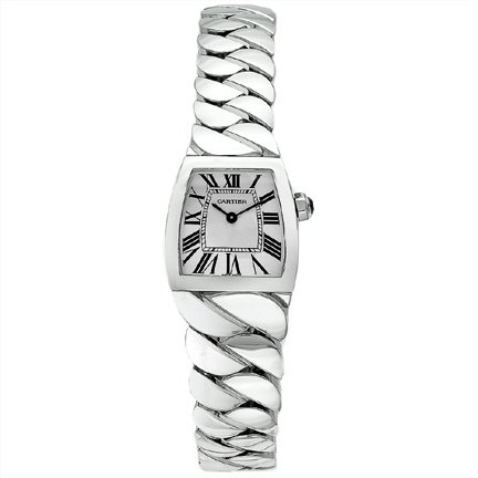 Cartier Women's W660012I La Dona Braided Stainless Steel Watch