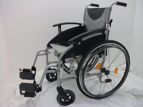 Fauteuil roulant manuel en aluminium ultraléger Assise 45 cm