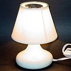 Electric Tart Burner Lamp - White
