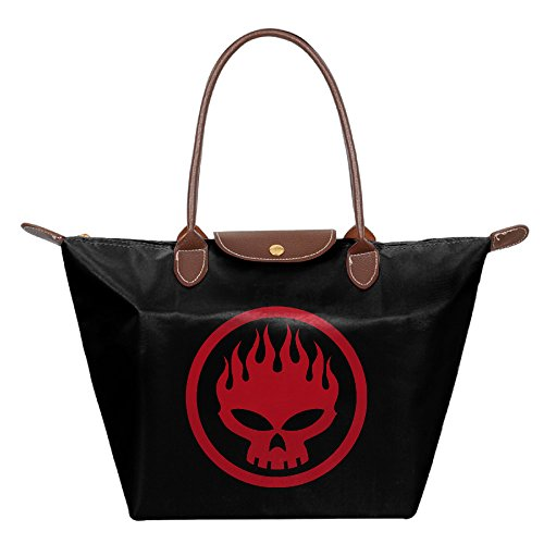FALKING Women's The Offspring Badge Waterproof Totes Messenger Bags For Beach Shopping With Zipper (House Of Cards Season 2 Cast compare prices)