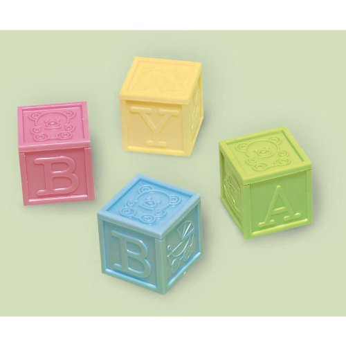 Baby Block Favors, 4ct