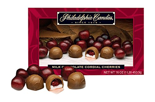 Chocolate Covered Cherries With Cream Center