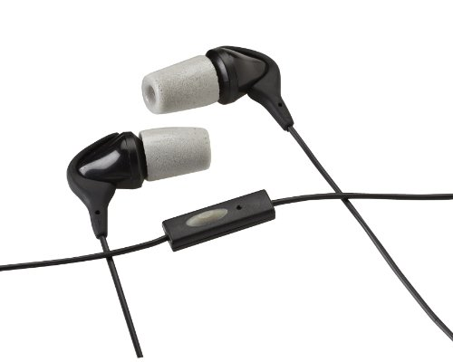 Comply Nr-10I Noise Reduction Earphones With Mic For Iphone (Black)