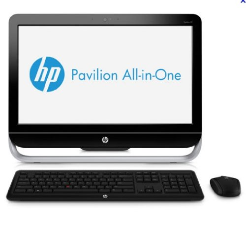 ordinateur de bureau hp pavilion 20 b120ef all in one desktop ordinateur tout en un 20 50 8. Black Bedroom Furniture Sets. Home Design Ideas