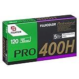 Fujifilm Fujicolor Pro 400H Color Negative Film ISO 400, 120mm, 5 Roll Pro Pack