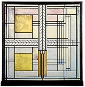 home kitchen home d  233 cor window treatments stained glass panelsFrank Lloyd Wright Stained Glass Circles