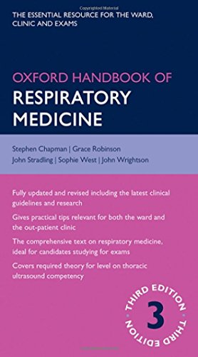 Oxford Handbook of Respiratory Medicine (Oxford Medical Handbooks)