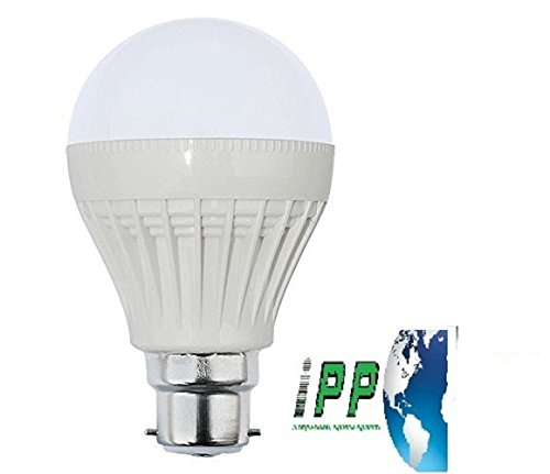 12W B22 Plastic Body White LED Bulb (Pack of 1)