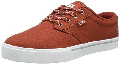 Etnies Mens Jameson 2 Eco Suede Skateboarding Shoes 4101000323 Orange/White/Gum 5 UK, 38 EU, 6 US