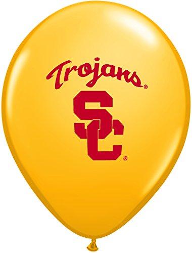 "Pioneer Balloon Company 10 Count Usc Trojan Latex Balloon, 11"", Multicolor"