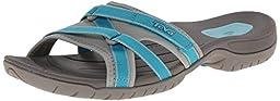 Teva Women\'s Tirra Slide, Lake Blue, 7.5 M US