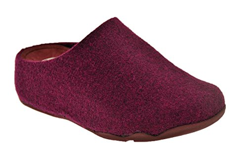 Fitflop? Shuv? Felt Pantofole Nuovo Tg 36 Sca.