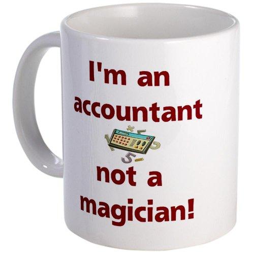 Cafepress I'M An Accountant Not A Magic Mug - Standard Multi-Color