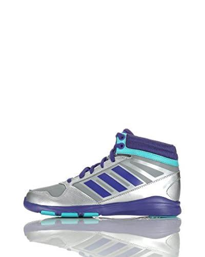 adidas Sneaker Dance Mid K [Grigio/Argento/Viola]