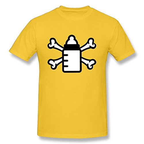 Baby Teat Bottle Men'S Fitted Whites Tee Shirts - Ultra Cotton front-629271