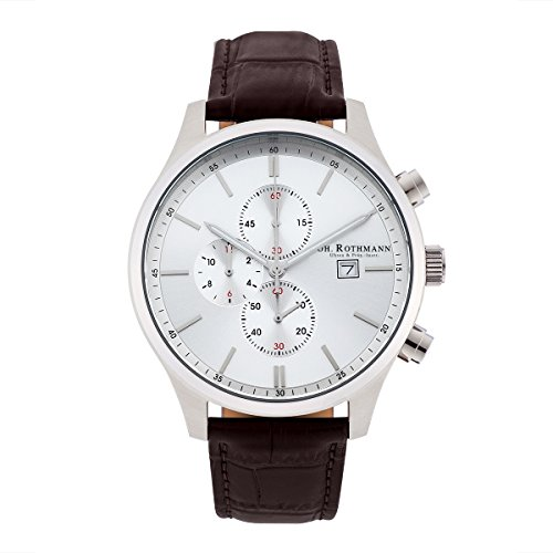 Joh. Rothmann Men's Watch Franz Chronograph stainless steel 5 ATM S/S/B 10030029