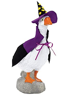 """The Well-Dressed Goose - Goose (13""""L x 7""""W x 17""""H)"""