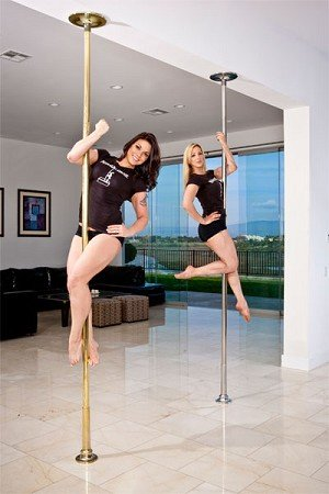 Platinum Stages Extreme Multi Piece Portable Dance Pole