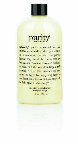 Philosophy Purity Made Simple One-Step Facial Cleanser 16 OuncesB00021C49W