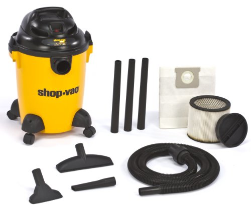 Shop-Vac 9650600 3.0-Peak Hp Pro Series Wet Or Dry Vacuum, 6-Gallon