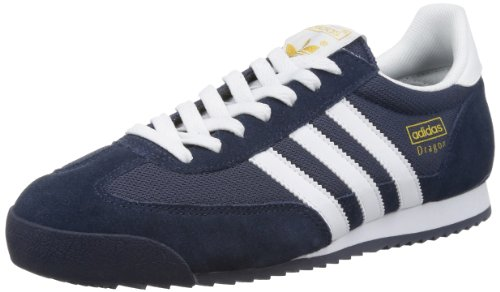 adidas Dragon, Herren Sneakers, Blau (New Navy/White/Metallic Gold), 45 1/3 EU (10.5 Herren UK) thumbnail
