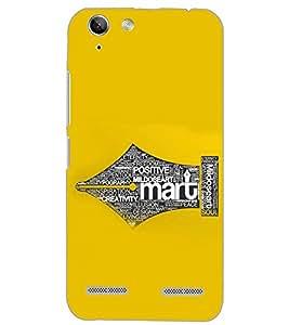 PrintDhaba QUOTE D-6994 Back Case Cover for LENOVO LEMON 3 (Multi-Coloured)