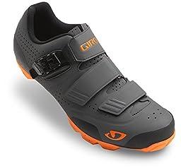 Giro Privateer R Shoe - Men\'s Dark Shadow/Flame 46.5