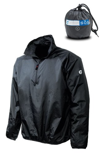 Sunderland Mens Ultra-Lightweight Showerproof SOS Jacket - M - Navy