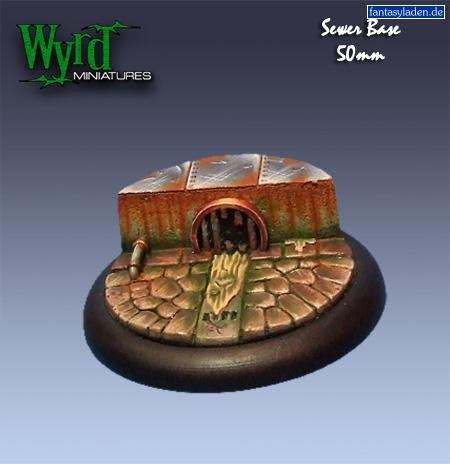 Wyrd Miniatures Malifaux 50mm Sewer Bases Model Kit