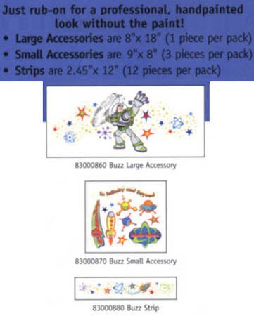 Instant Stencil - Buzz Lightyear Small Accessory - 1
